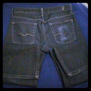 7 for all capri jeans